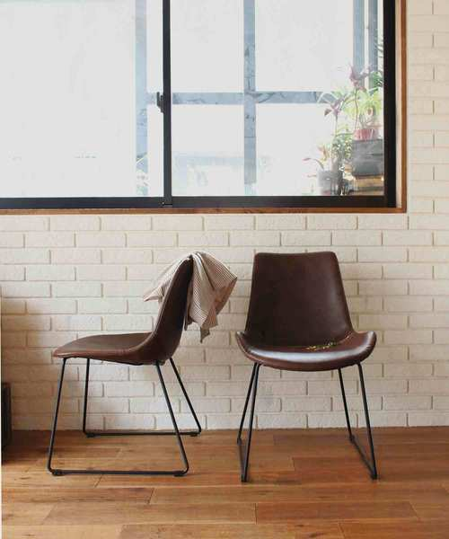 [a.depeche] PUNISH chair light brown / チェア