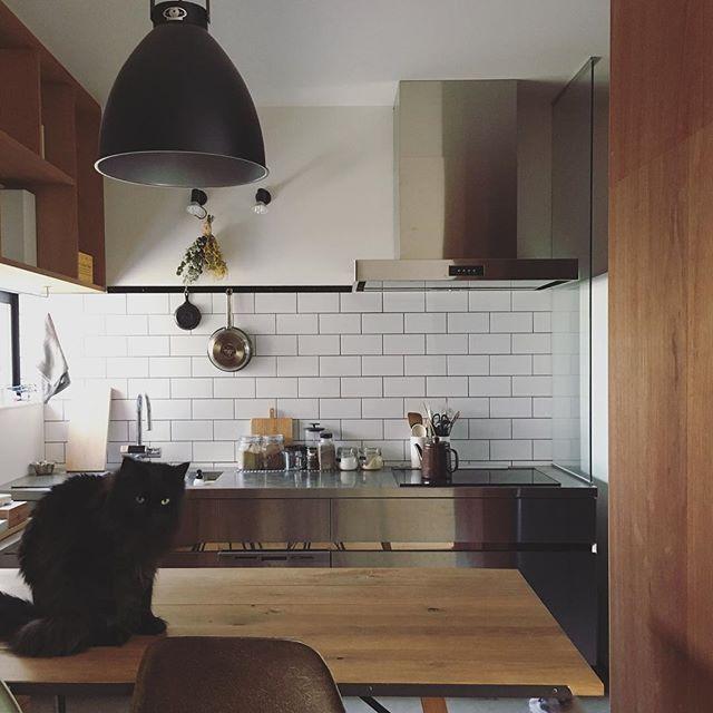 壁付けキッチンのレイアウト3