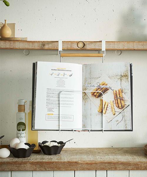 [TIMELESS COMFORT] tosca (トスカ) 戸棚下レシピホルダー
