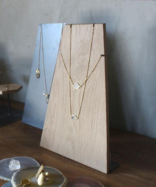 [a.depeche] wood necklace stand / ウッドネックレススタンド