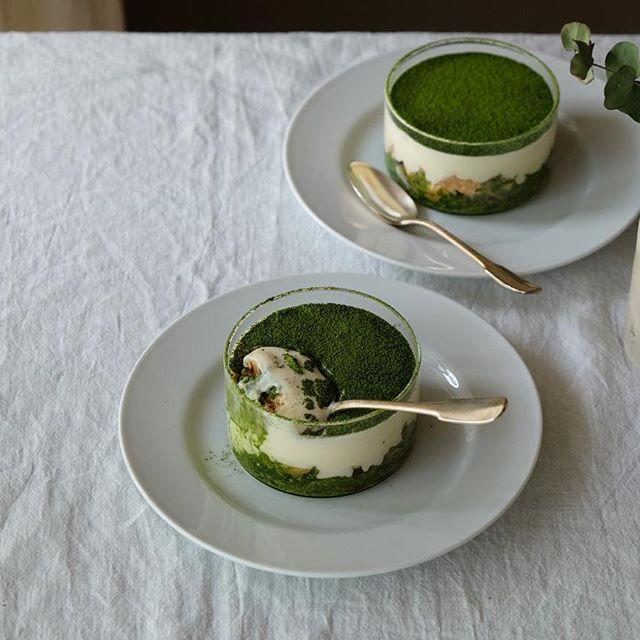 豆腐を使った人気の抹茶ティラミス