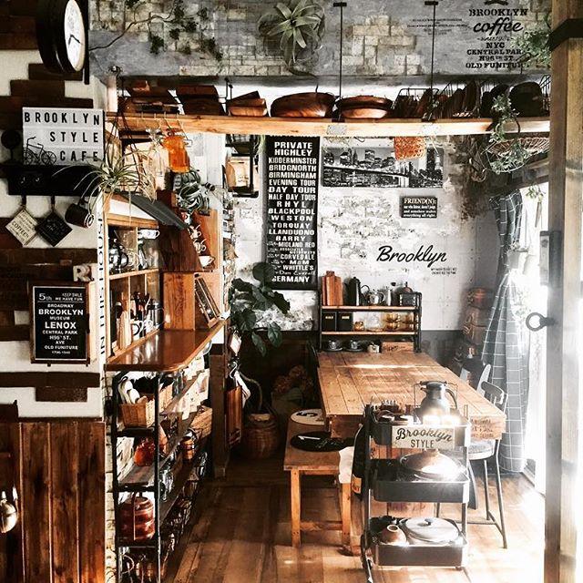 カフェのようなのダイニングキッチン