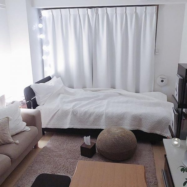 一人暮らしにおすすめの6畳レイアウト実例