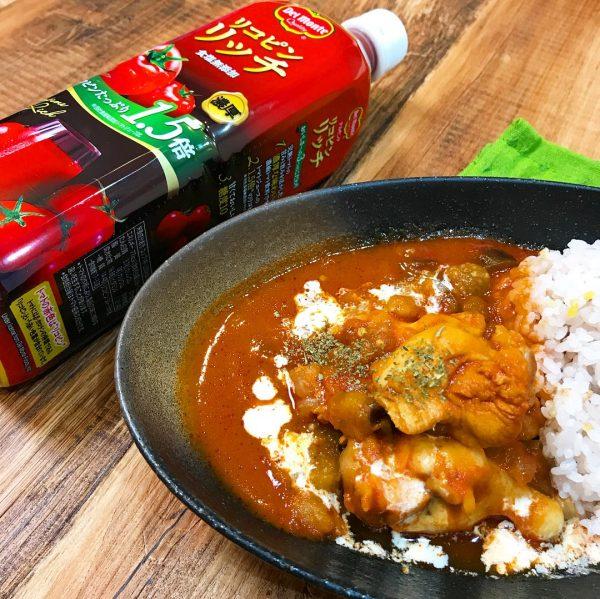 鶏肉の洋風煮込み料理の定番☆トマト煮込み