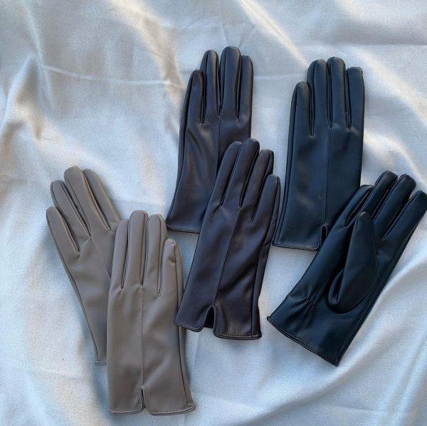 レザー風手袋