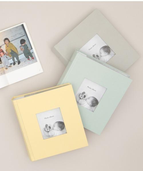 [MARK'S] [ポストカードサイズ・200枚収納可] フォトフレームアルバム