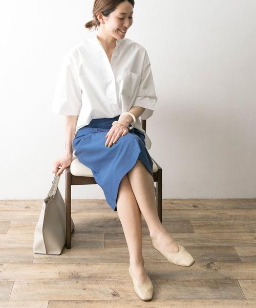 [URBAN RESEARCH] カットカルゼタックタイトスカート