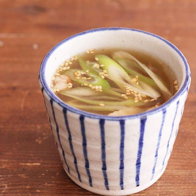 中華風で人気の種類!ネギチャーシュースープ