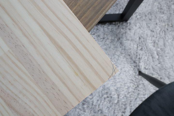 サイドテーブル DIY4