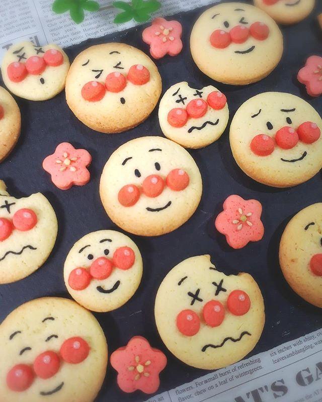 子供が喜ぶ!アンパンマンクッキー