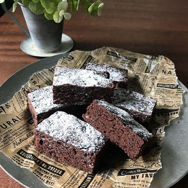 簡単に手作りできるガトーショコラ風ケーキ
