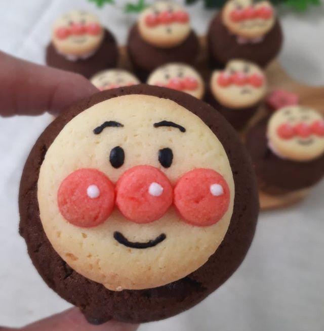 手作りの焼き菓子!アンパンマンマフィン