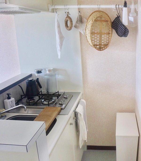 一人暮らしの小さなキッチンで生み出される豊かな食卓g