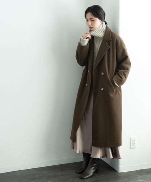 冬のかっこいい女性ファッション8