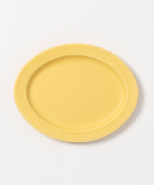 [TODAY'S SPECIAL] Oval Plate(楕円皿)Sサイズ イエロー/グレー/ネイビー SAKUZAN DAYS Sara(作山窯)