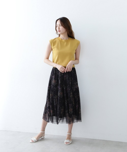 JILL by JILLSTUART チュールボタニカル スカート