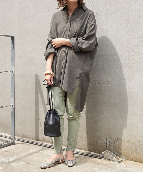[CIAOPANIC TYPY] フェードカラー裾フリンジレギパン