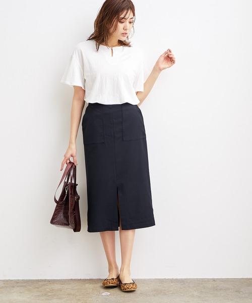 Lポケットタイトスカート