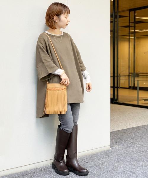[JOURNAL STANDARD] 【REMME/レメ】 LONG BOOTS:ロングブーツ◆
