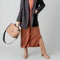 40代に似合う冬のロングブーツコーデ【2021】トレンドの着こなしをチェック♪