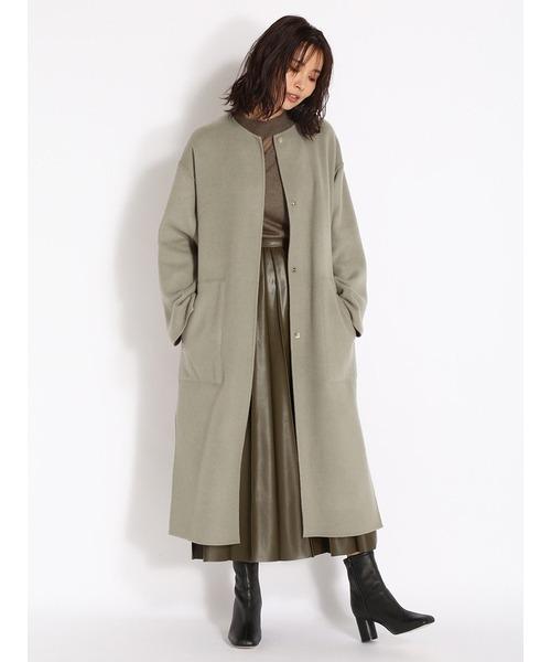 冬のかっこいい女性ファッション12