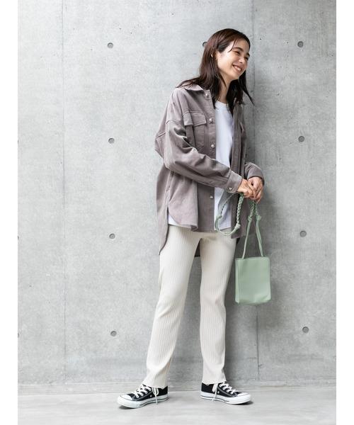 [koe] 【2020AW】CPO JACKET/《COTTON 100%》綿コーデュロイシャツジャケット〇