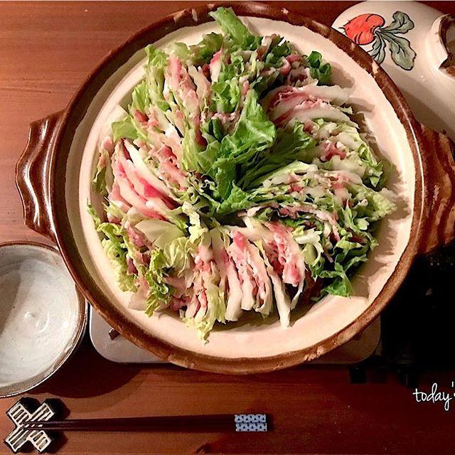 簡単鍋レシピ!ミルフィーユ鍋