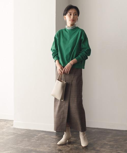 [ADAM ET ROPE'] 【セットアップ対応】ベンツディティールタイトスカート2