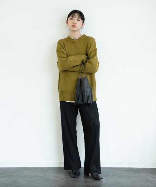冬のかっこいい女性ファッション5