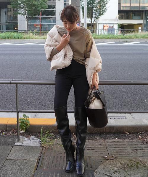 [ETRE TOKYO] ギャザーロングブーツ