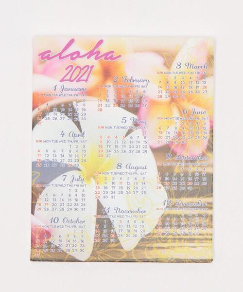 [チャイハネ] 【Kahiko】2021年 Hawaiianフォトボードカレンダー