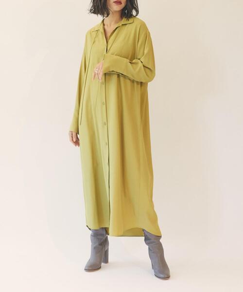 【EMMEL REFINES】【手洗可能】EM HW オープンCL ヨークシャツ