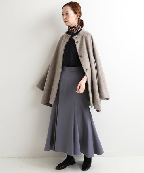 [IENA] マーメイドフレアデザインスカート◆