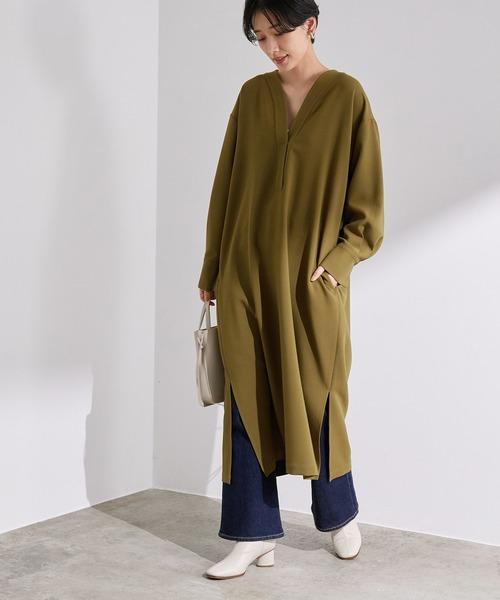 冬のかっこいい女性ファッション18