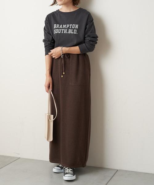 [CIAOPANIC TYPY] 【セットアップ】Iラインイージースウェットスカート2