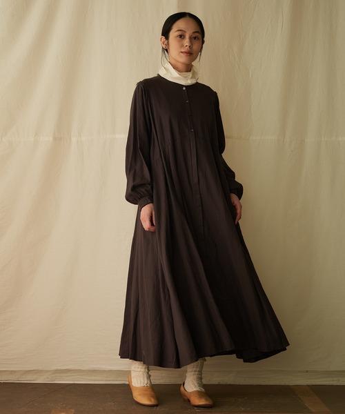 [suzuki takayuki] flared dress/フレアードドレス