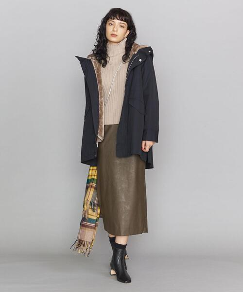[BEAUTY&YOUTH UNITED ARROWS] BY グログランフードミドルコート -3WAY/撥水加工-12