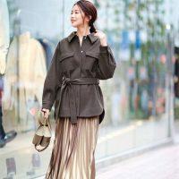 30代女性が着こなすトレンドコーデ◆若作りならない流行りの着こなし方とは?