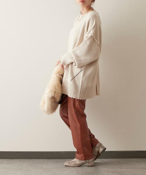 冬のかっこいい女性ファッション