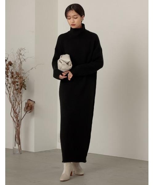 冬のかっこいい女性ファッション16