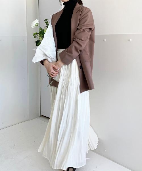 櫻田結子プロデュース ロングプリーツスカート