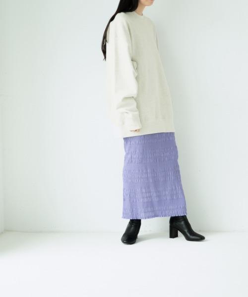 [LOWRYS FARM] シャーリングタイトスカート2 921055 10