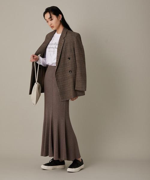 【セットアップ対応】マーメイドRIBスカート