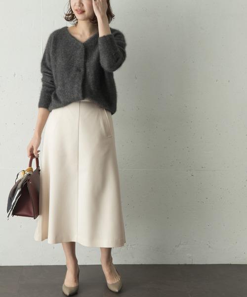 [URBAN RESEARCH ROSSO WOMEN] ライトサーモフレアスカート