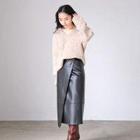 大人の品格高まる♡フェイクレザースカートのおすすめ冬コーデ15選