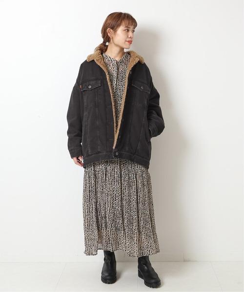 【5 1/2】 3RDラインボアデニムジャケット◆