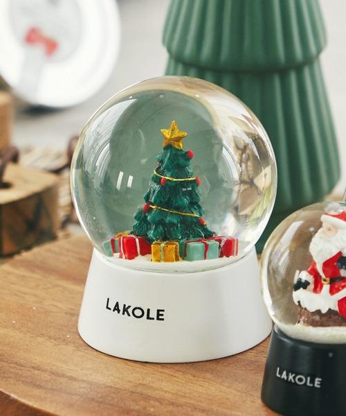 [LAKOLE] 【2020 CHRISTMAS】スノードーム(M) / LAKOLE