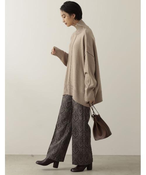 冬のかっこいい女性ファッション7