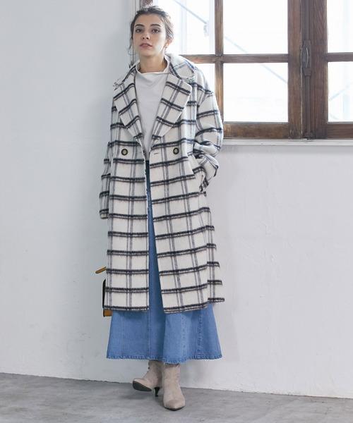 [ViS] 【Daily use】デニムマーメイドスカート<WEB限定>