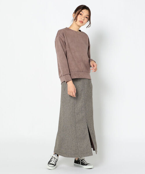 [FREDY&GLOSTER] ★ツィードマキシスカート